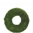 Wreath moss, D40cm, green-nature